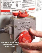Water Heater Temperature Dial
