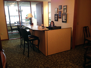 New Office Space - Front Desk