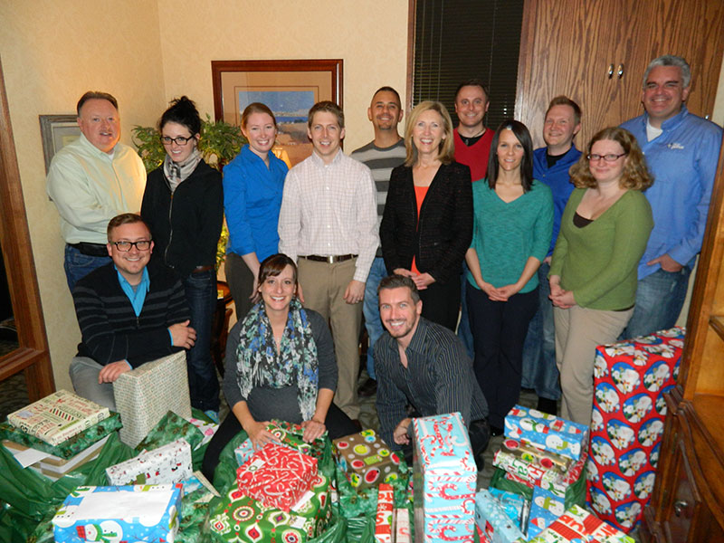 2014 KVC Wrapping Team!