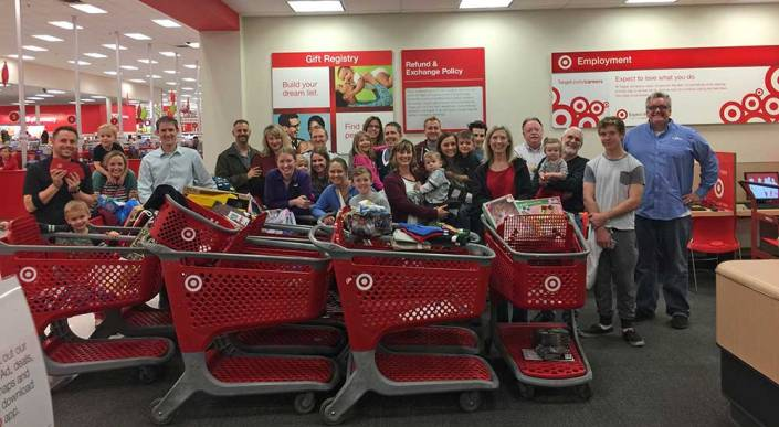 2016 KVC Shopping at Target