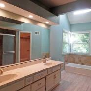 Home Rental Services Reno1 Master Light and Tile After
