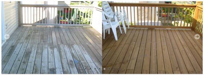 Renew Crew - Deck Before and After