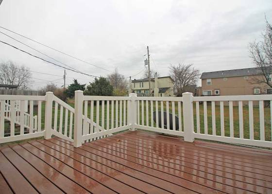 Duplex #1 - Deck at Closing